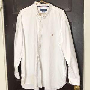 Ralph Lauren Shirts - SALE ❤️ Ralph Lauren white button Oxford 2XB